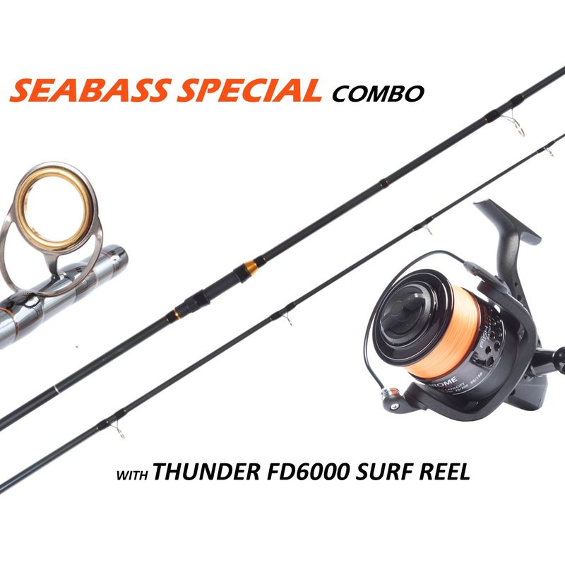 FISHZONE SEABASS SPECIAL 10'/3.0M COMBO